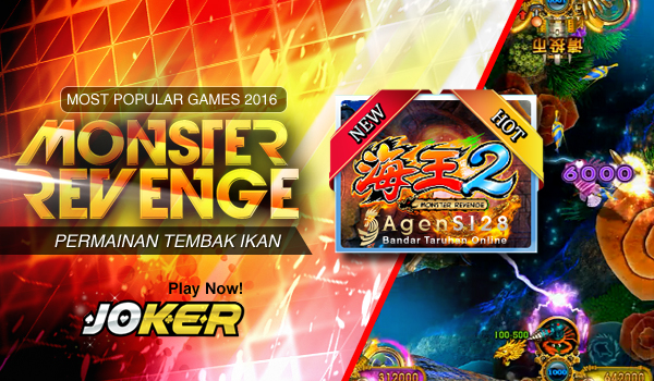 Joker123 Tembak Ikan dan Games Taruhan Virtual Seru