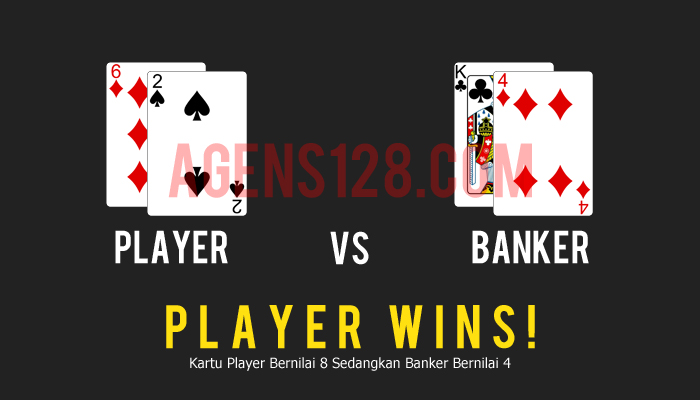 Ilustrasi Player vs Banker