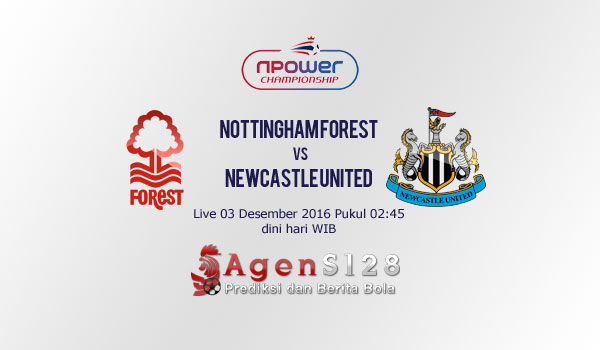 Prediksi Skor Nottingham Forest vs Newcastle United 03 Des 2016