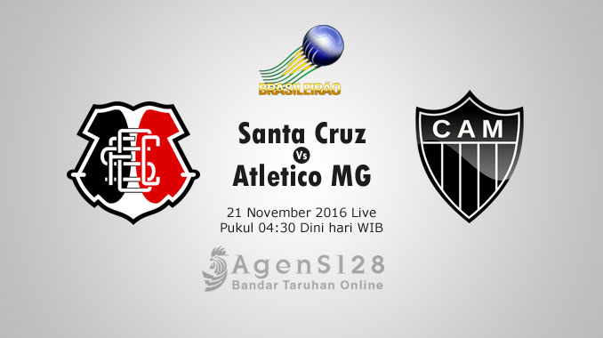 Prediksi Skor Santa Cruz vs Atletico MG 21 Nov 2016