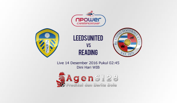 Prediksi Skor Leeds United vs Reading 14 Des 2016