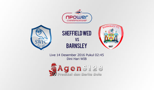Prediksi Skor Sheffield Wednesday vs Barnsley 14 Des 2016