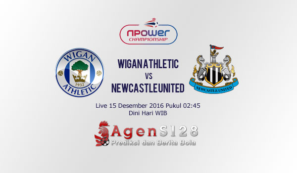 Prediksi Skor Wigan Athletic vs Newcastle United 15 Des 2016